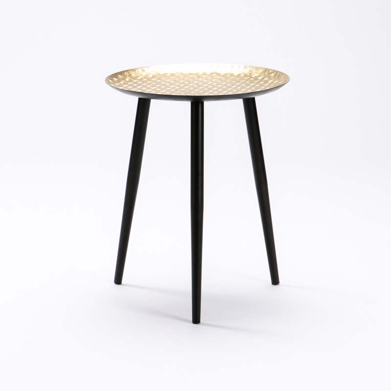 ASH 44cm METAL ROUND SIDE TABLE