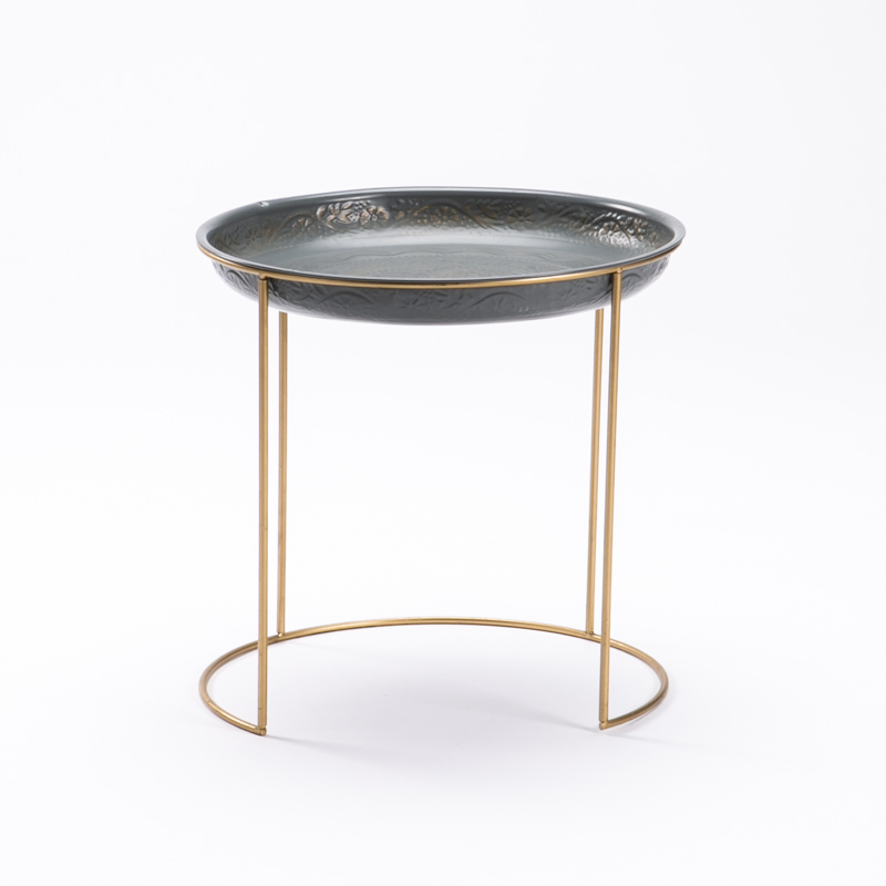 KOMO 42CM ROUND SIDE TABLE