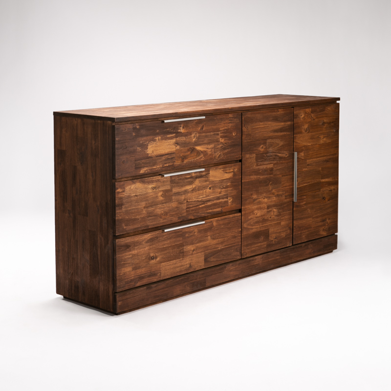 ARCTIC 3 DRAWER 2 DOOR SIDEBOARD