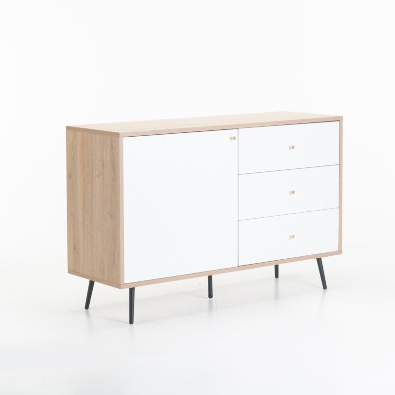 MONZA 1 DOOR 3 DRAWER SIDEBOARD