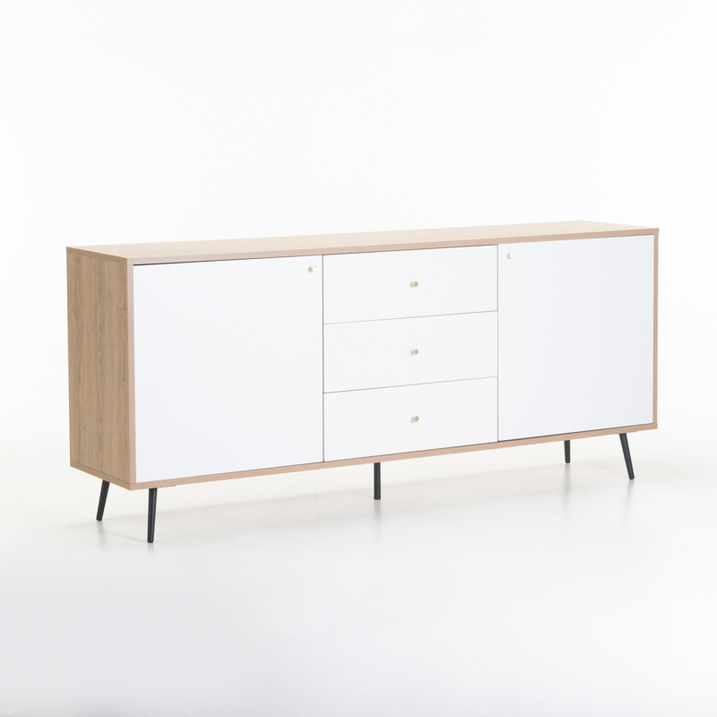 MONZA 2 DOOR 3 DRAWER SIDEBOARD
