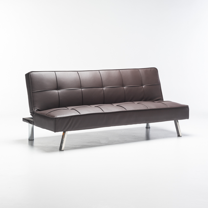 Benn Leather Touch Sleeper Couch