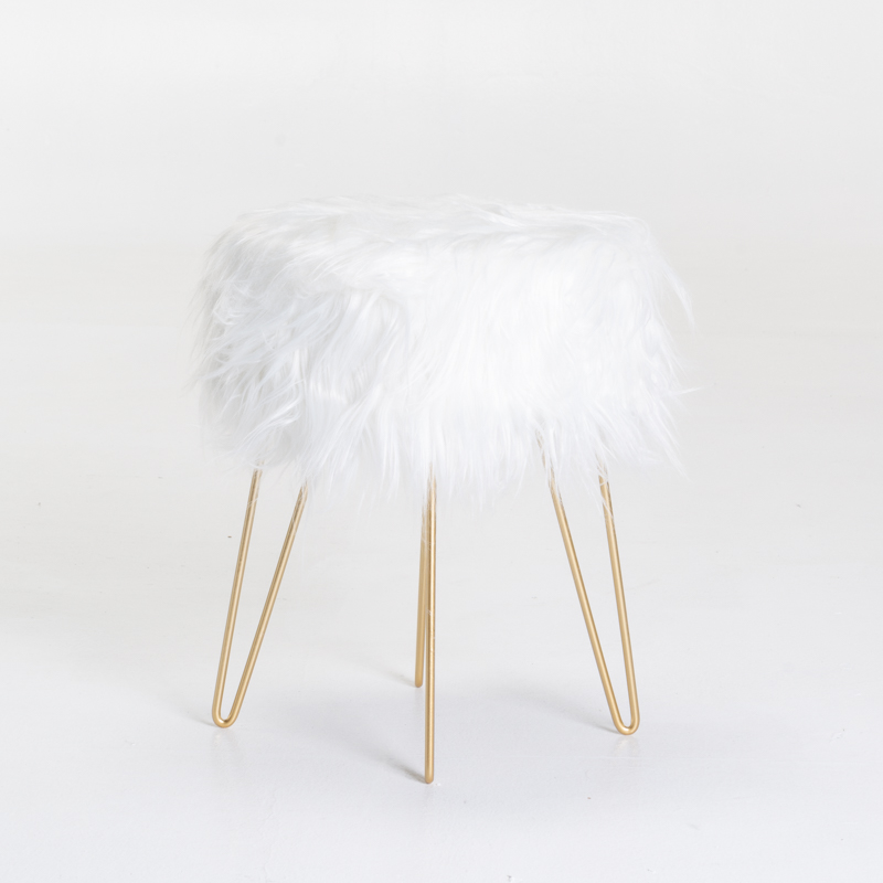 JUPITER FUR STOOL