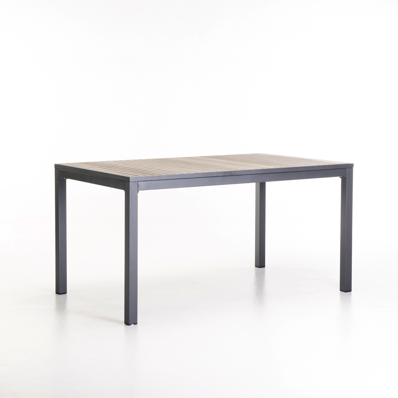 FIJI 150x90cm ALUMINIUM TABLE
