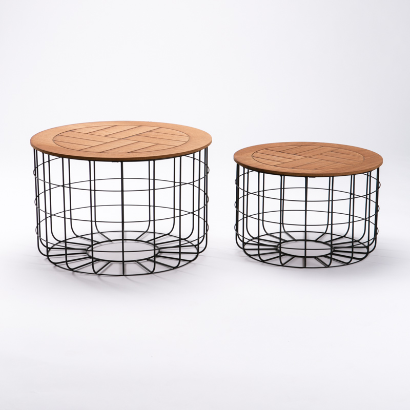 TROY SET OF 2 TABLES