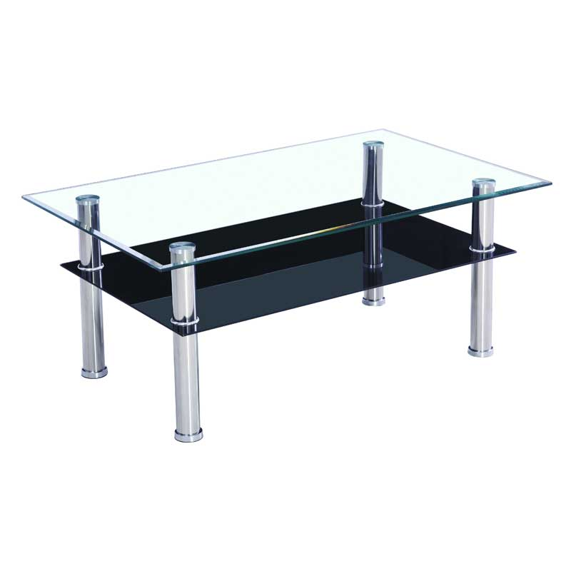 Glass Coffee Table ~ Glass top coffee table casual cottage