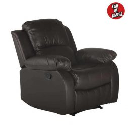 Mano-Leather-Armchair-Recliner---Brown