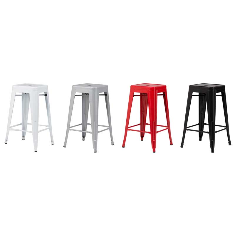 Tolix kitchen stool decofurn factory shop for Kitchen stools cape town