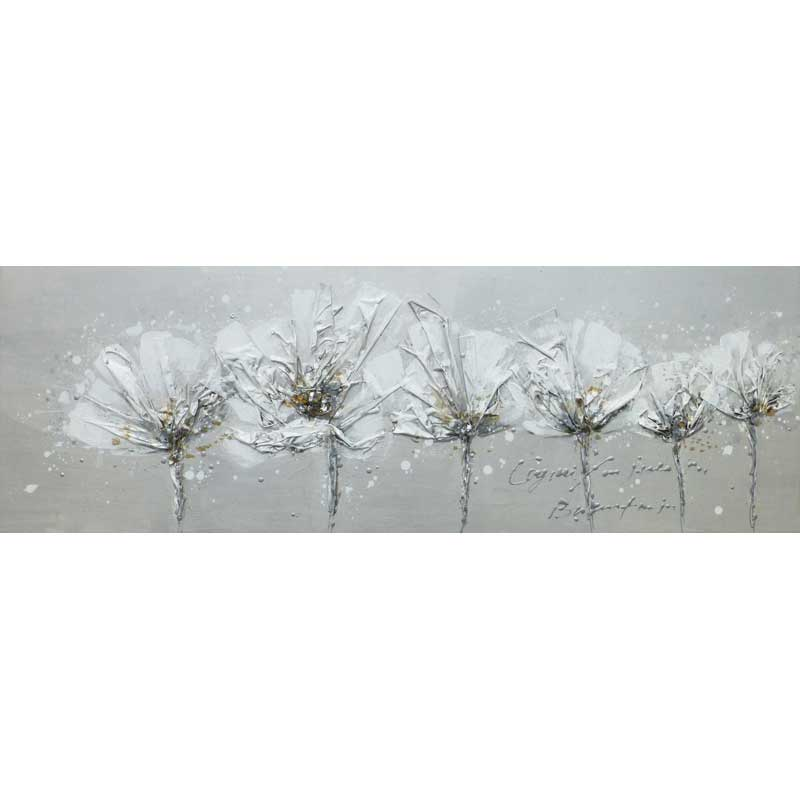 ART G3 - FLOWERS GREY 50X150