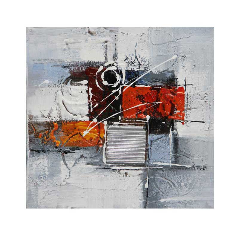 ART I1 - ABSTRACT RED 30X30