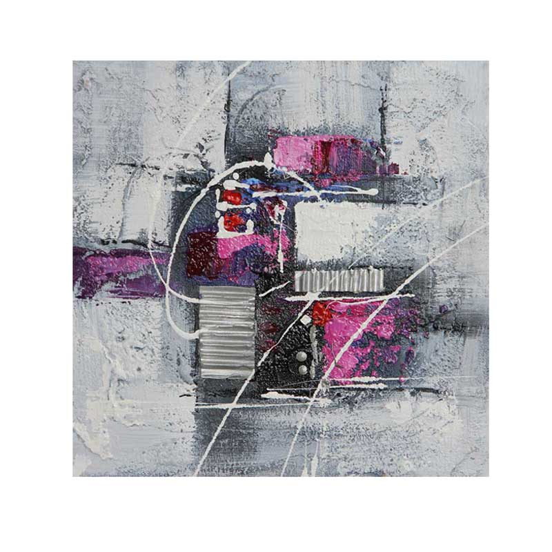ART I2 - ABSTRACT PURPLE 30X30