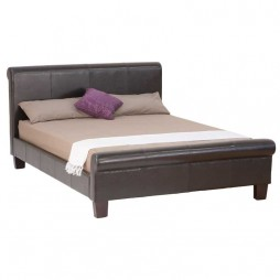 Alicia Leather Bed
