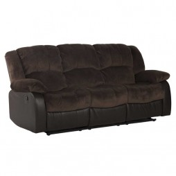 Blake Luxury Fabric 3 Seater Recliner