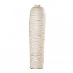 Bottle Wrap White Pot