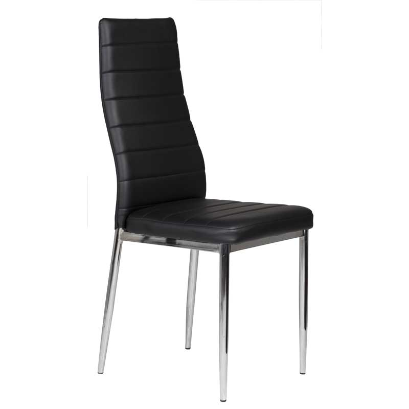 Dina Chrome Dining Chair Decofurn Factory Shop