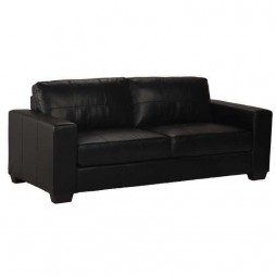 Gail Leather 3 Seater