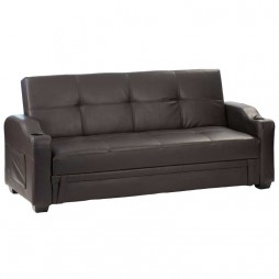 Madonna Sleeper Couch with Cupholder