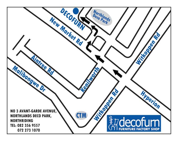 Directions Decofurn Factory Shop