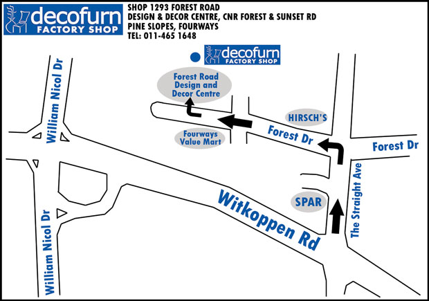 Directions To Kitchen Bar Fourways