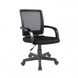 DELUXE-OFFICE-CHAIR-W-126A---BLACK
