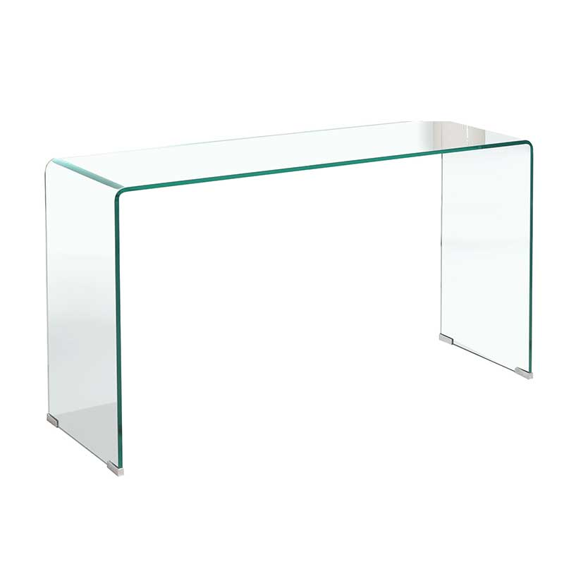 Ruby 12mm Tempered Glass Console • Decofurn Factory Shop