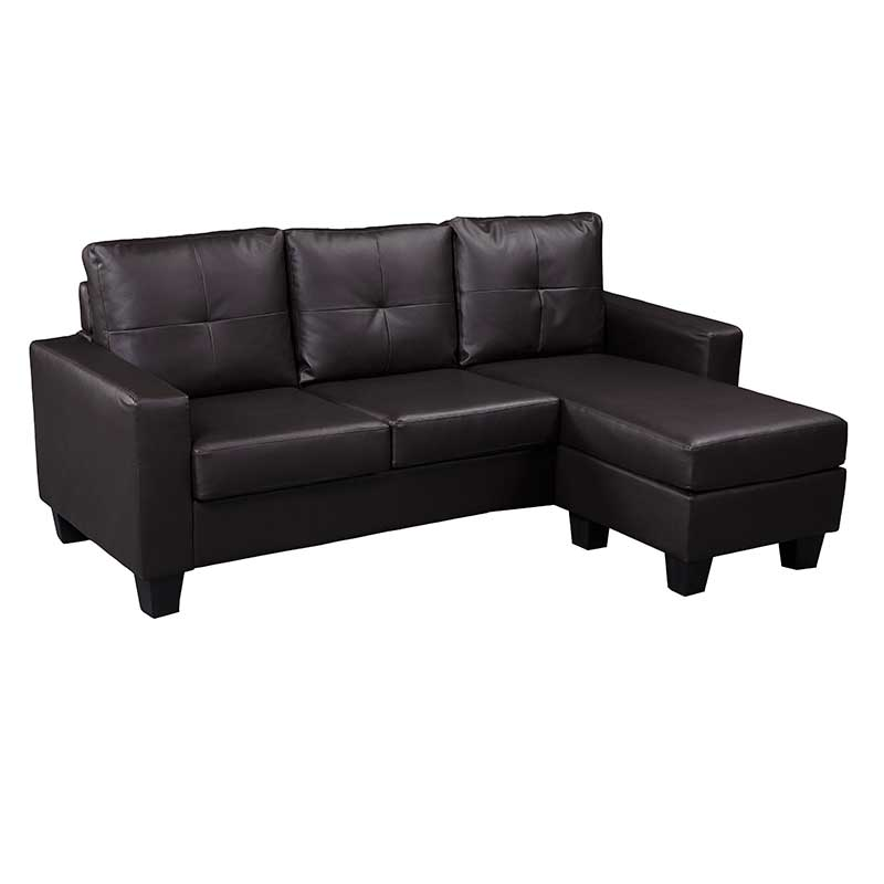 of picture more ashton chaise brown with sectional badcock