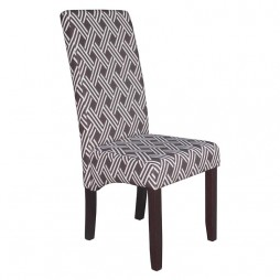 Noble-Fabric-Dining-Chair---E05-Choc