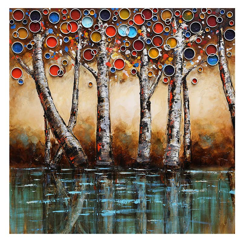 ART ZK - ENCHANTED FOREST 100X100