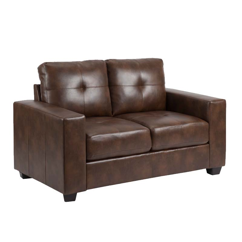 Decofurn Furniture Astra Leather Touch 2 Seater