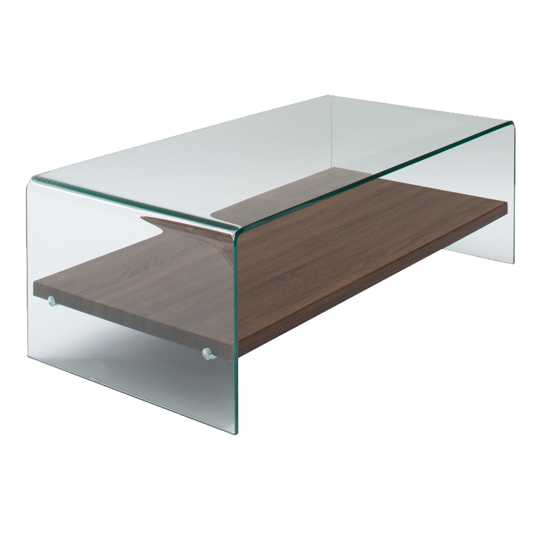 ivy 120x60cm 12mm tempered glass coffee table • decofurn factory shop