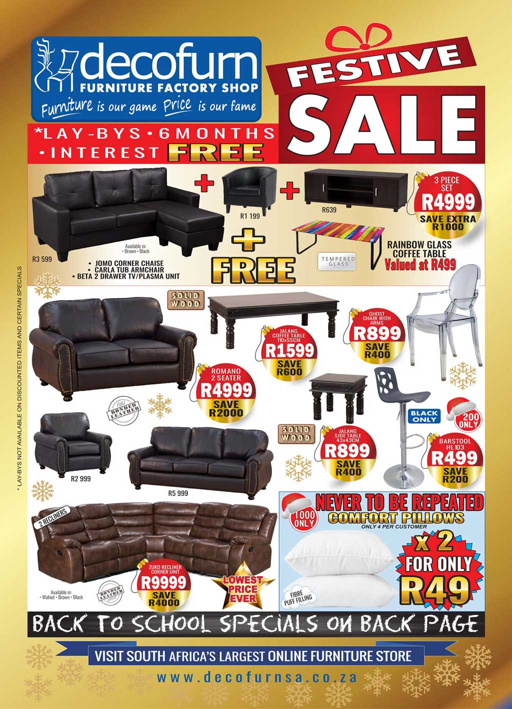 Specials O Decofurn Factory Shop