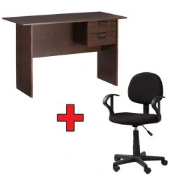 120cm-2-drawer-desk-and-office-chair-cm227