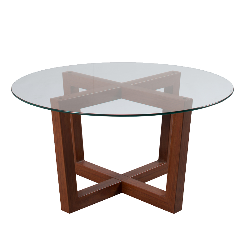 Coffee Table Round Gl Top 12000 Tables