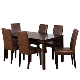 7PC Jet & Bishop Dining Set