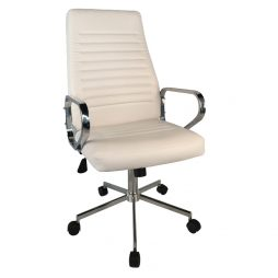 EXECUTIVE HIGHBACK OFFICE CHAIR OF218WHITE