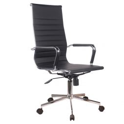 EXECUTIVE HIGHBACK OFFICE CHAIR OF508BLACK