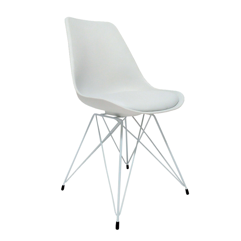 Emily White Leg Dining Chair