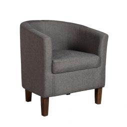 Kelly Fabric Tub Armchair