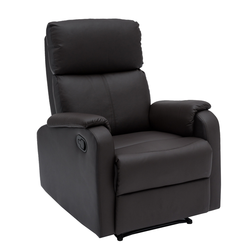 BO LEATHER TOUCH ARMCHAIR RECLINER